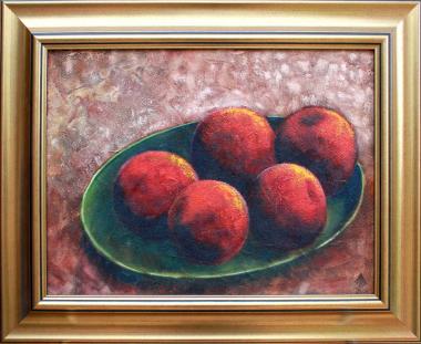 Appels op Namibie sand 2